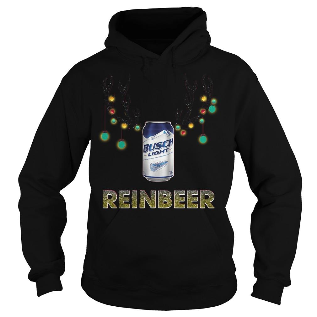 Reinbeer Busch Light Christmas Ugly Sweater, Shirt, Hoodie