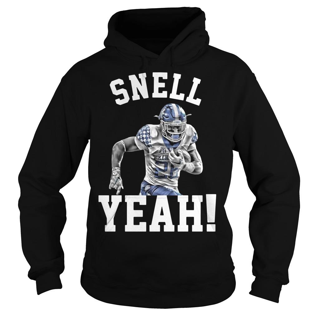 Snell Yeah Benny Snell Kentucky Wildcats Hoodie