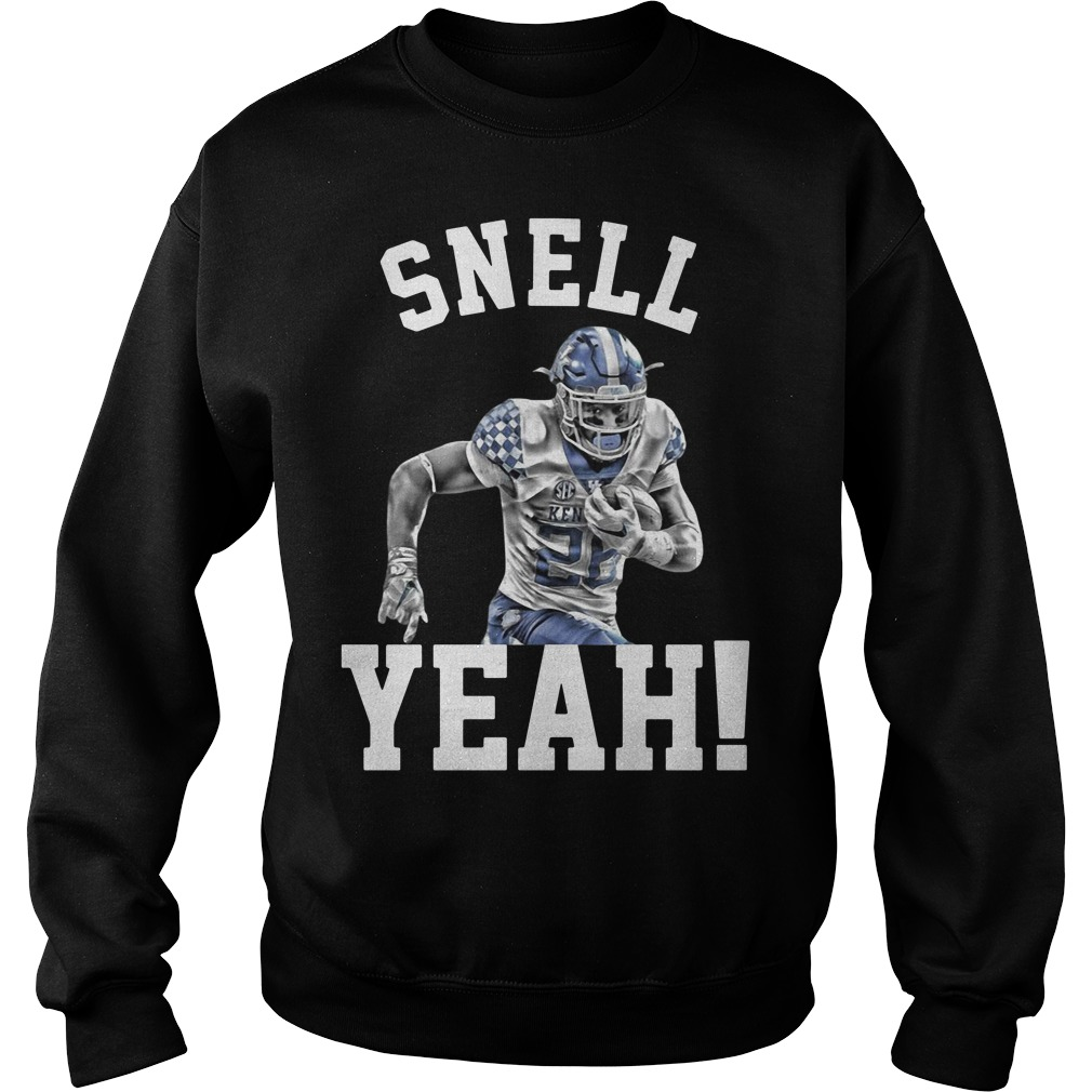 Snell Yeah Benny Snell Kentucky Wildcats Sweater