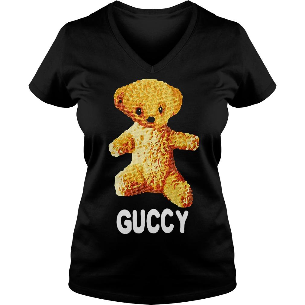 c669786f5eb Sweater Teddy Bear Guccy Demarcus Cousins V-neck t-shirt