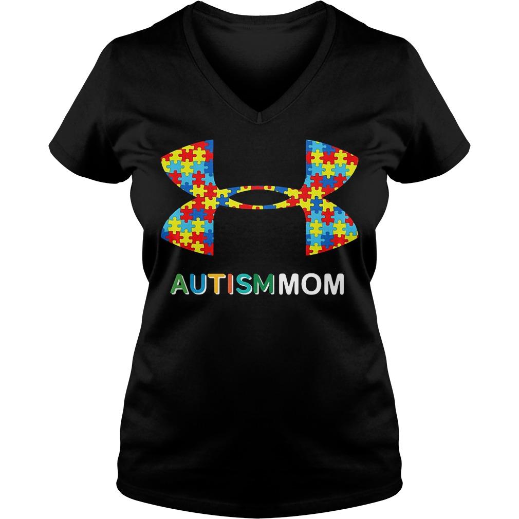 Under Armour Autism Mom V-neck T-shirt