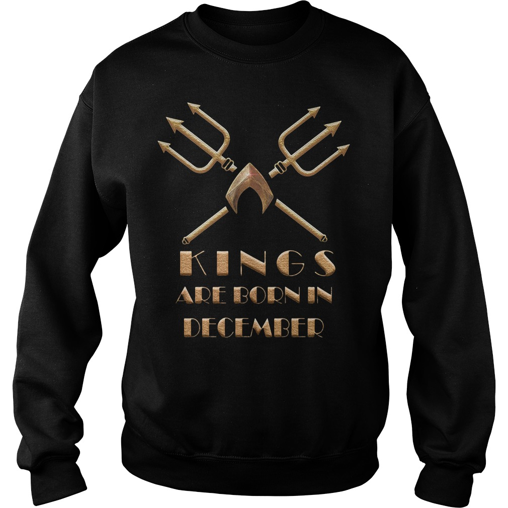 Aquaman Kings Are Born In December Sweater