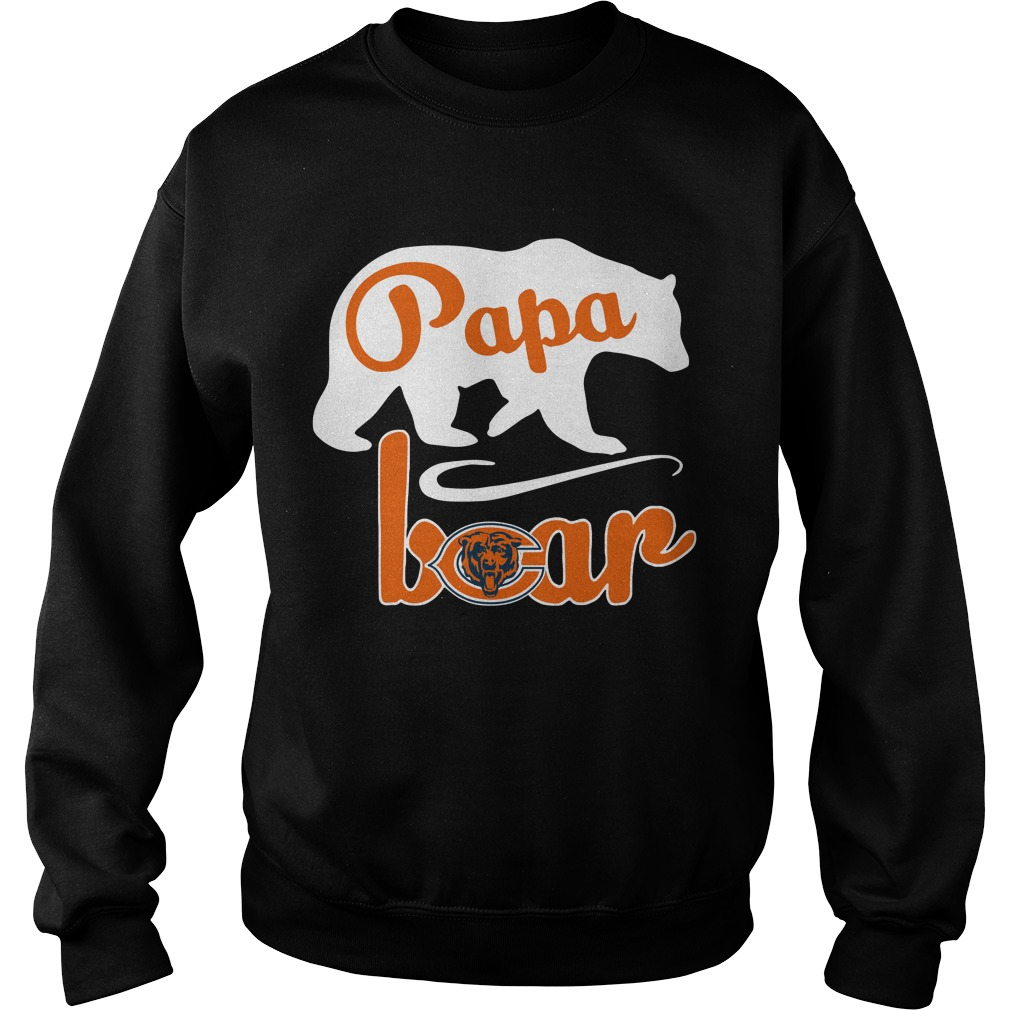 Chicago Bear Papa Bear Sweater