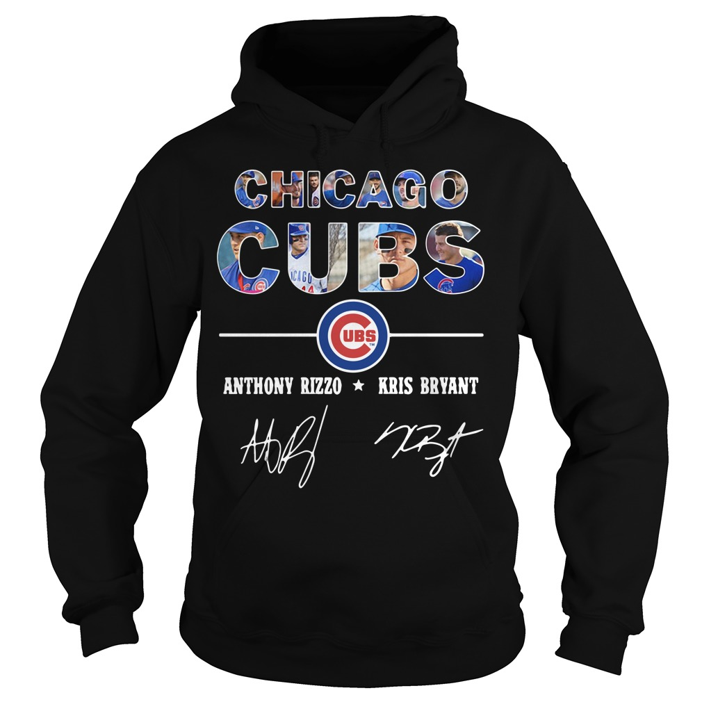 Chicago Cubs Anthony Rizzo And Kris Bryant Hoodie