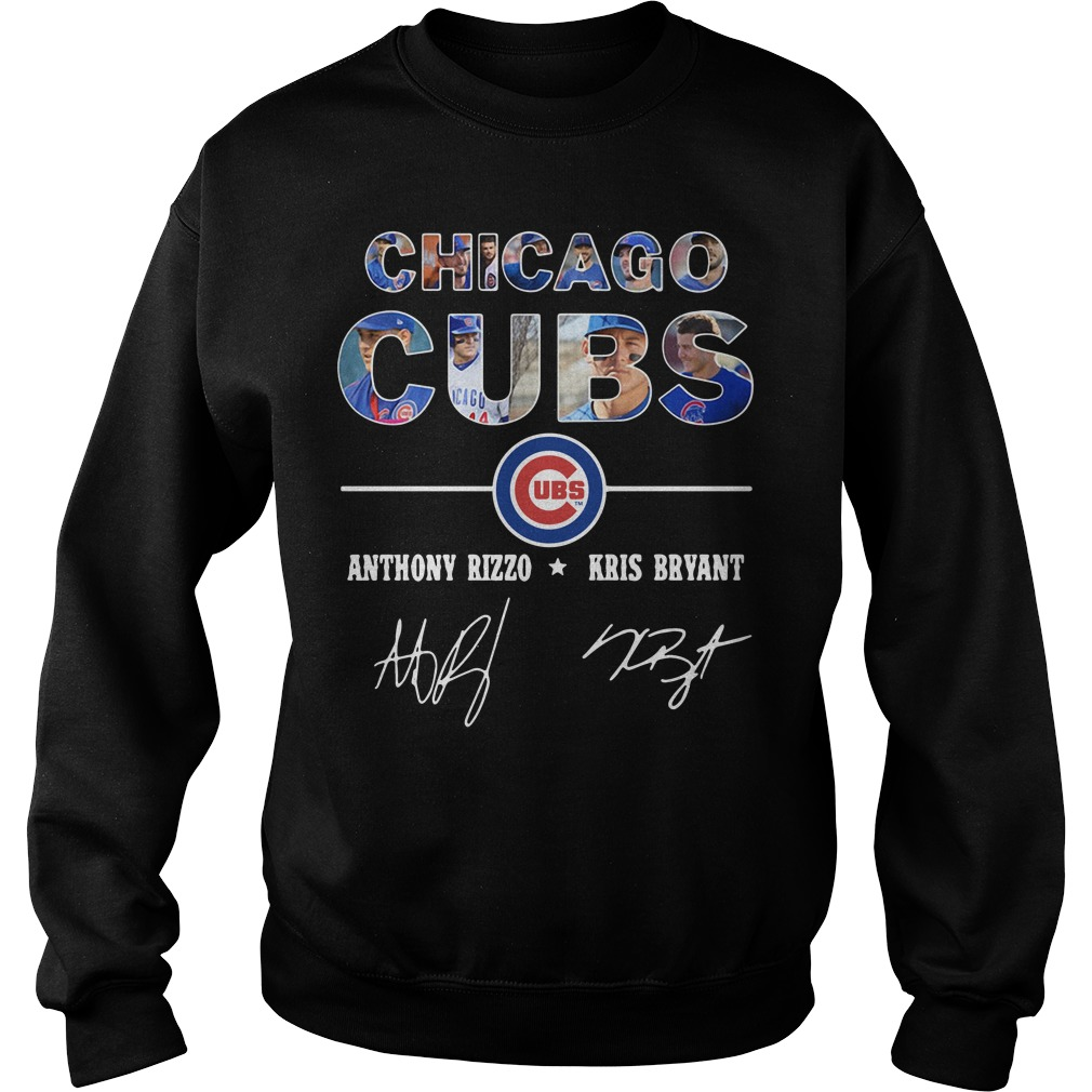 Chicago Cubs Anthony Rizzo And Kris Bryant Sweater