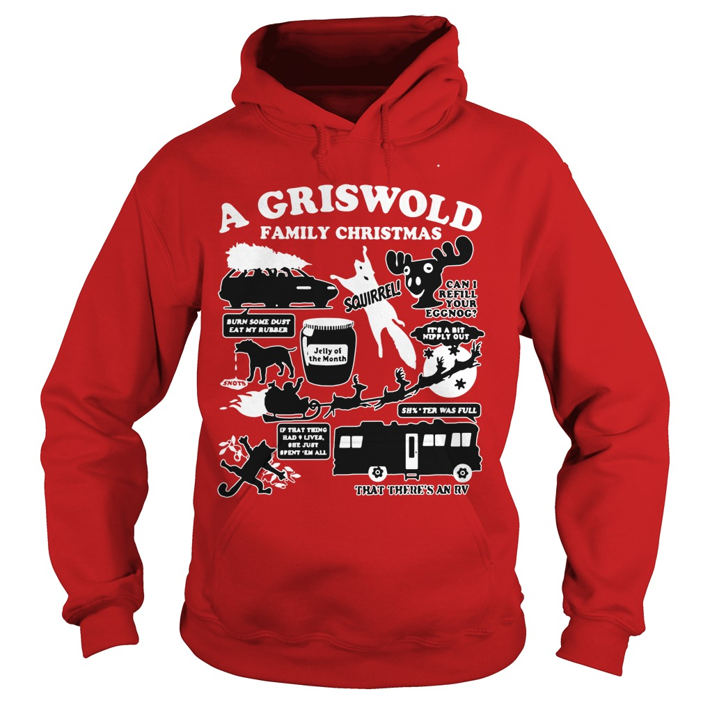 A Griswold Family Christmas Ugly Hoodie