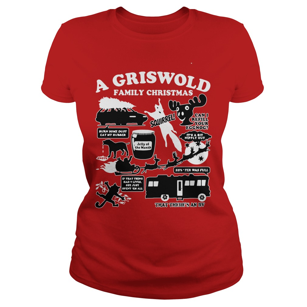 A Griswold Family Christmas Ugly Ladies Tee