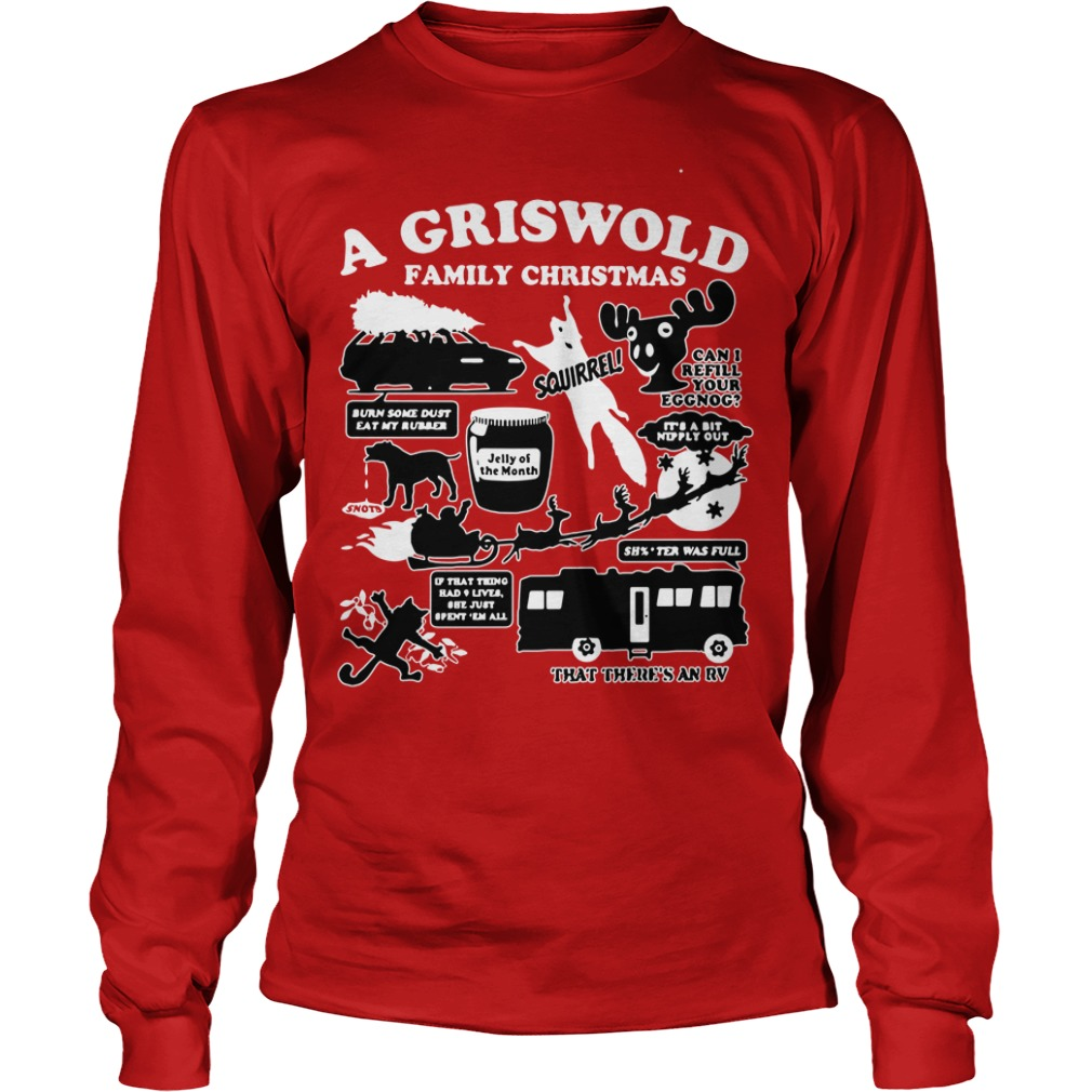 A Griswold Family Christmas Ugly Longsleeve tee