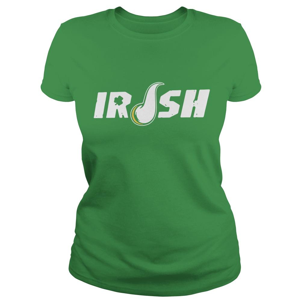 Irish Minnesota Vikings Ladies Tee