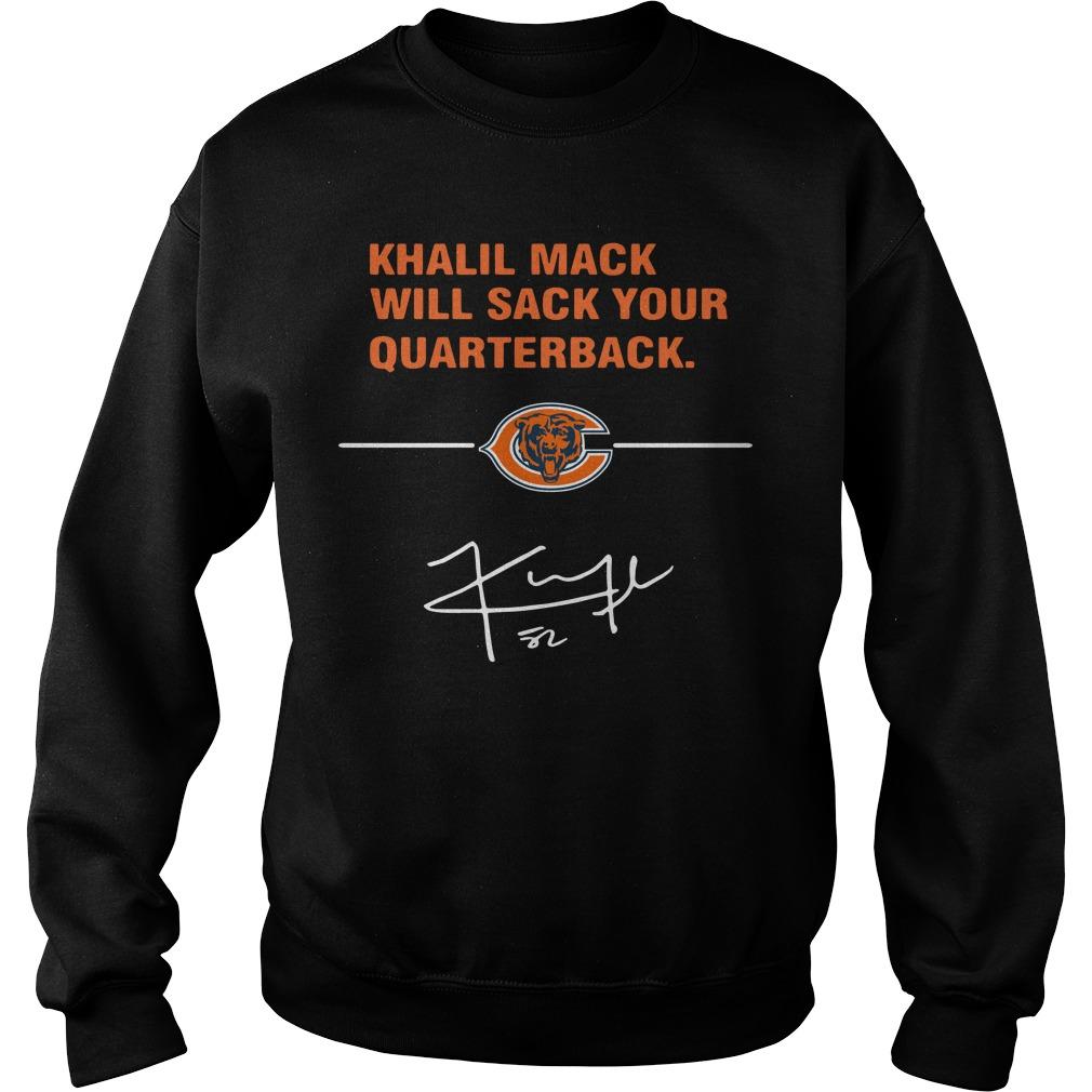 Khalil Mack Will Sack Your Quarterback Chicago Bears Sweater