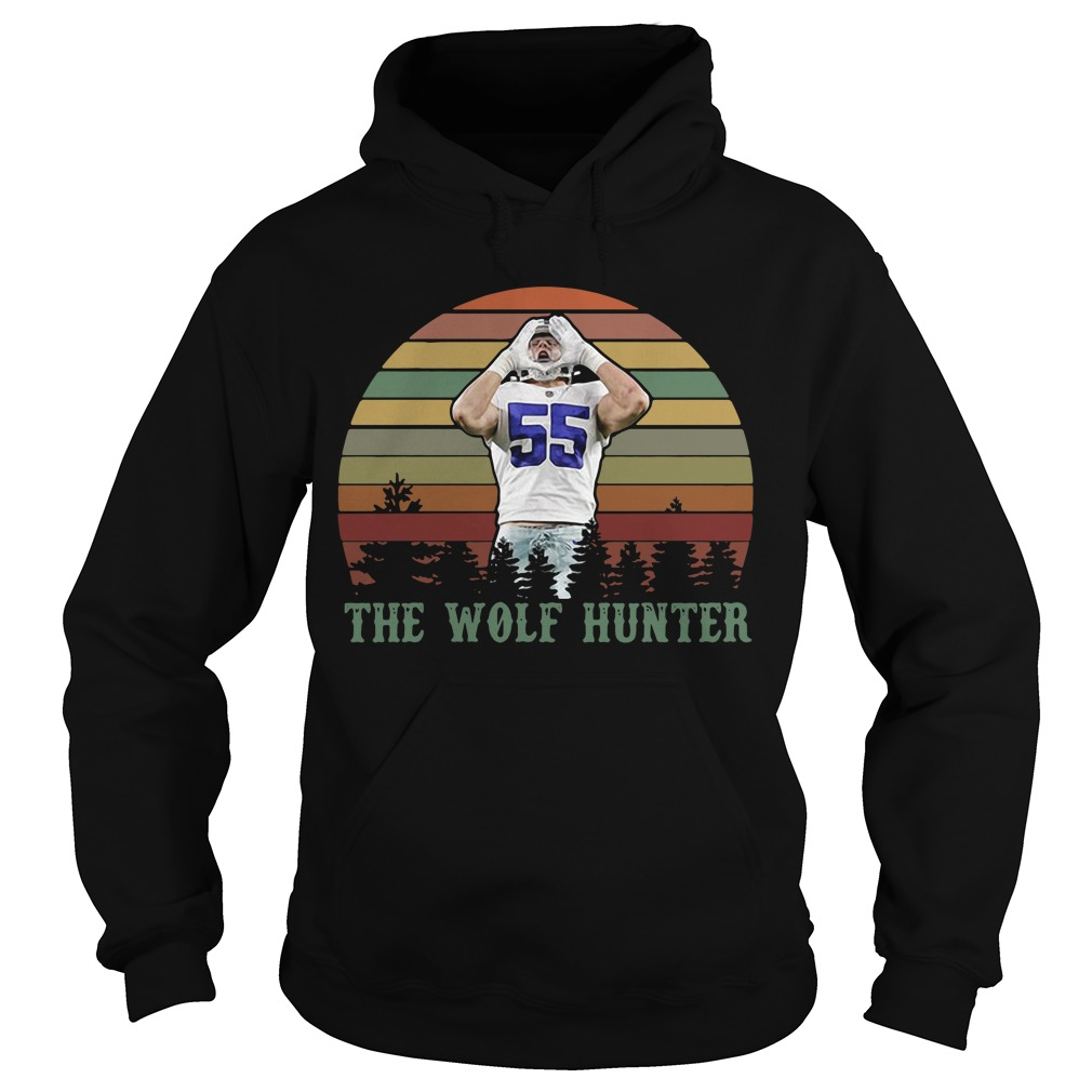 Leighton Vander Esch The Wolf Hunter Sunset Hoodie