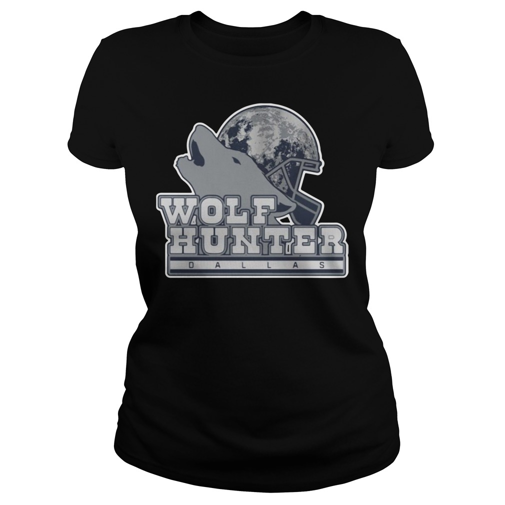 Leighton Vander Esch Wolf Hunter Dallas Ladies tee