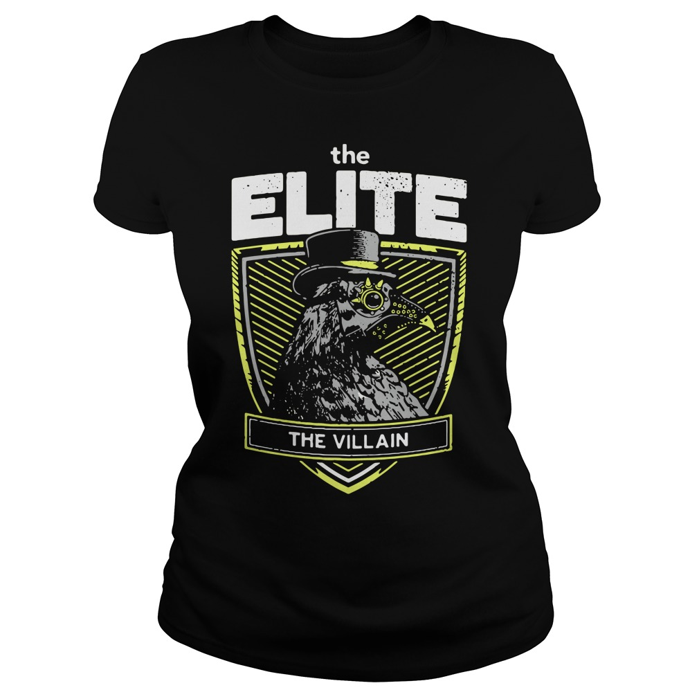 Marty Scurll The Elite The Villain Ladies Tee