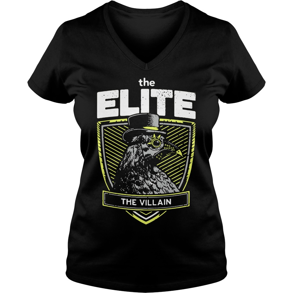 Marty Scurll The Elite The Villain V-neck T-shirt