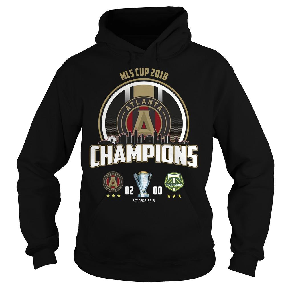Mls Cup 2018 Atlanta United Fc Champions Hoodie