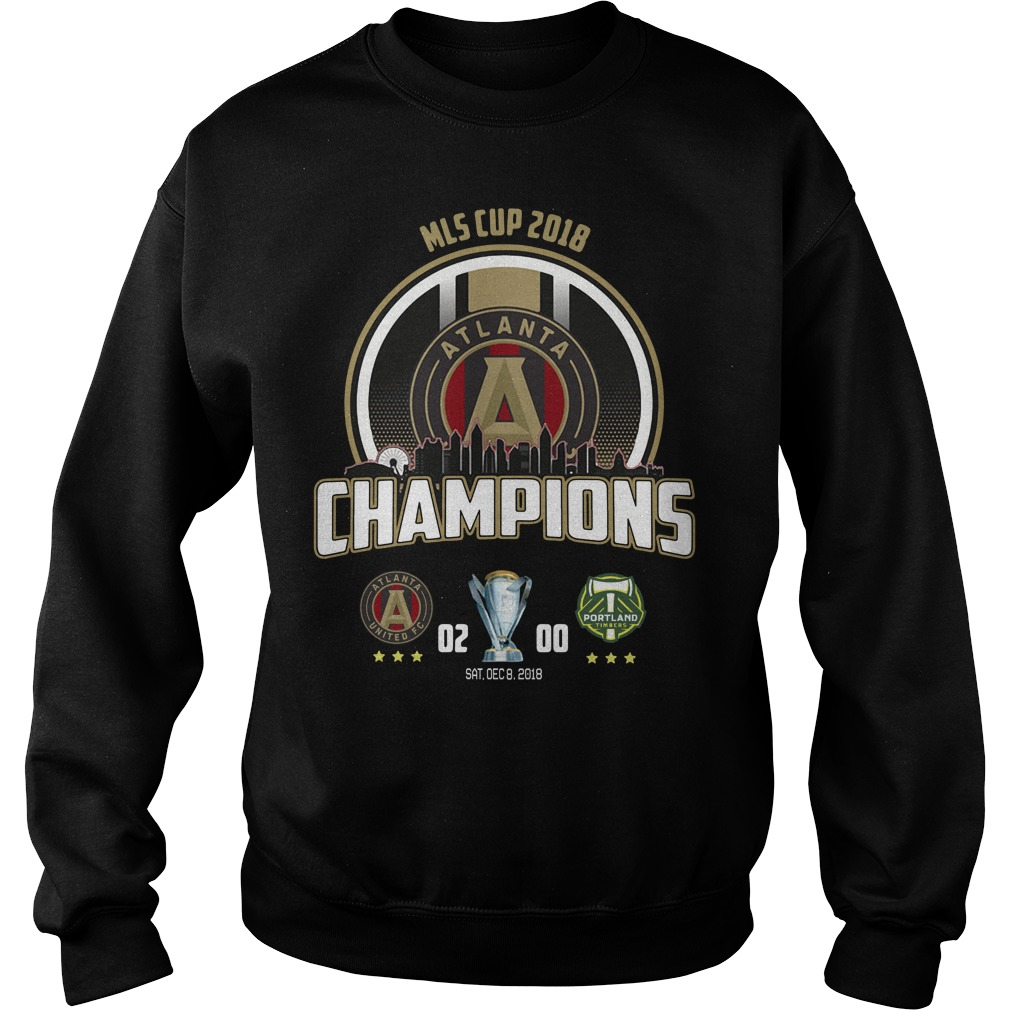 Mls Cup 2018 Atlanta United Fc Champions Sweater