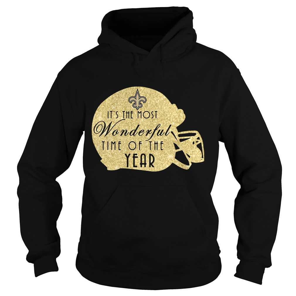 New Orleans Saints It's The Most Wonderful Time Of The Year Hoodie