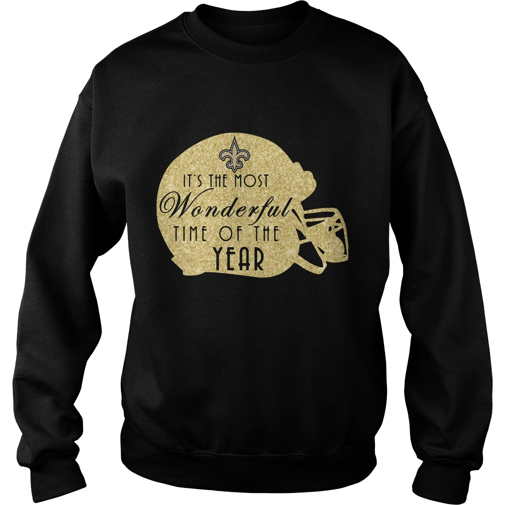 New Orleans Saints It's The Most Wonderful Time Of The Year Sweater