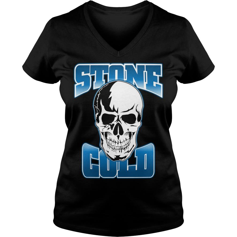 Post Malone Stone Cold Steve Austin V-neck T-shirt