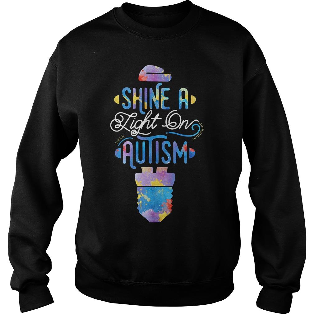 Shine A Light On Autism Sweater
