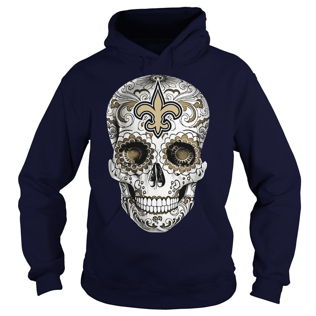 Skull New Orleans Saints Hoodie