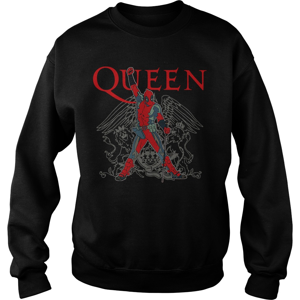 The Queen Freddie Mercury Deadpool Sweater