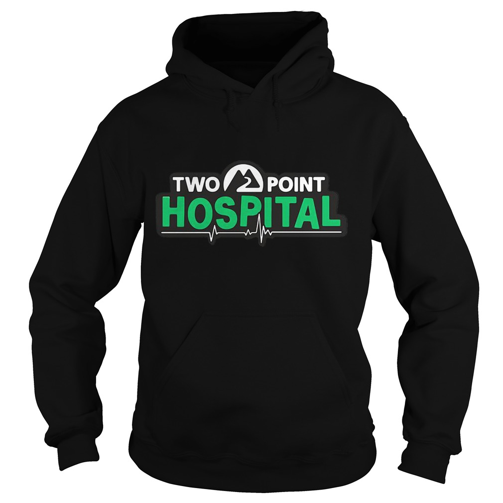 Two Point Hospital Logo Hoodie