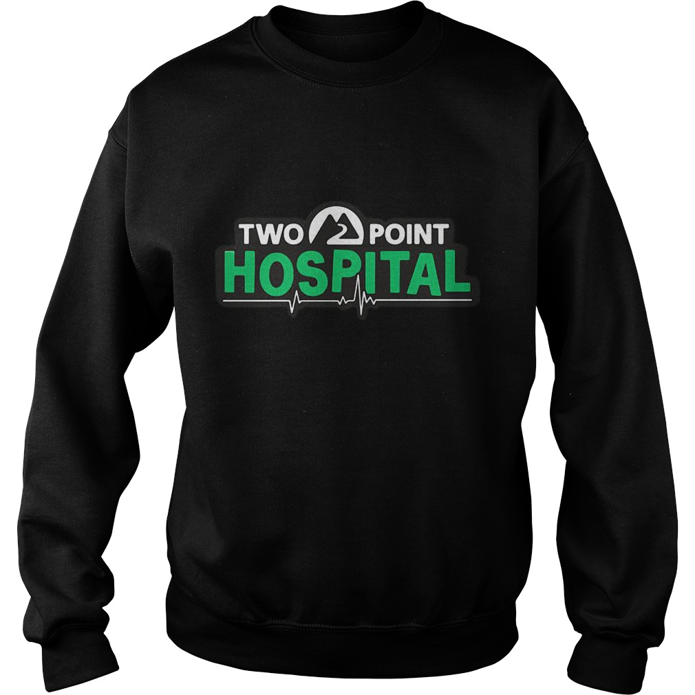Two Point Hospital Logo Sweater