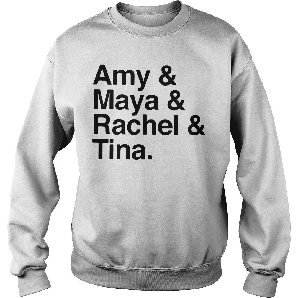 Amy And Maya And Rachel And Tina Sweater
