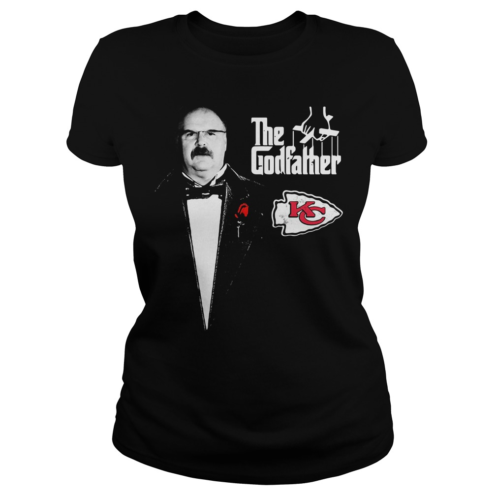 Andy Reid The Godfather Kansas City Chiefs Ladies Tee