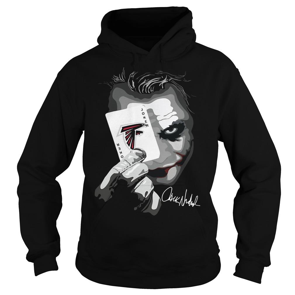 Atlanta Falcons Joker Poker Hoodie