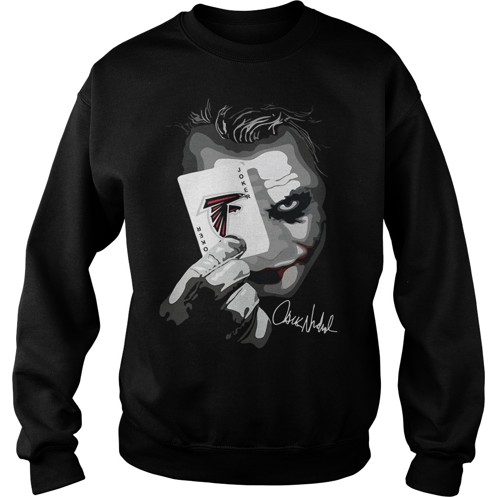 Atlanta Falcons Joker Poker Sweater