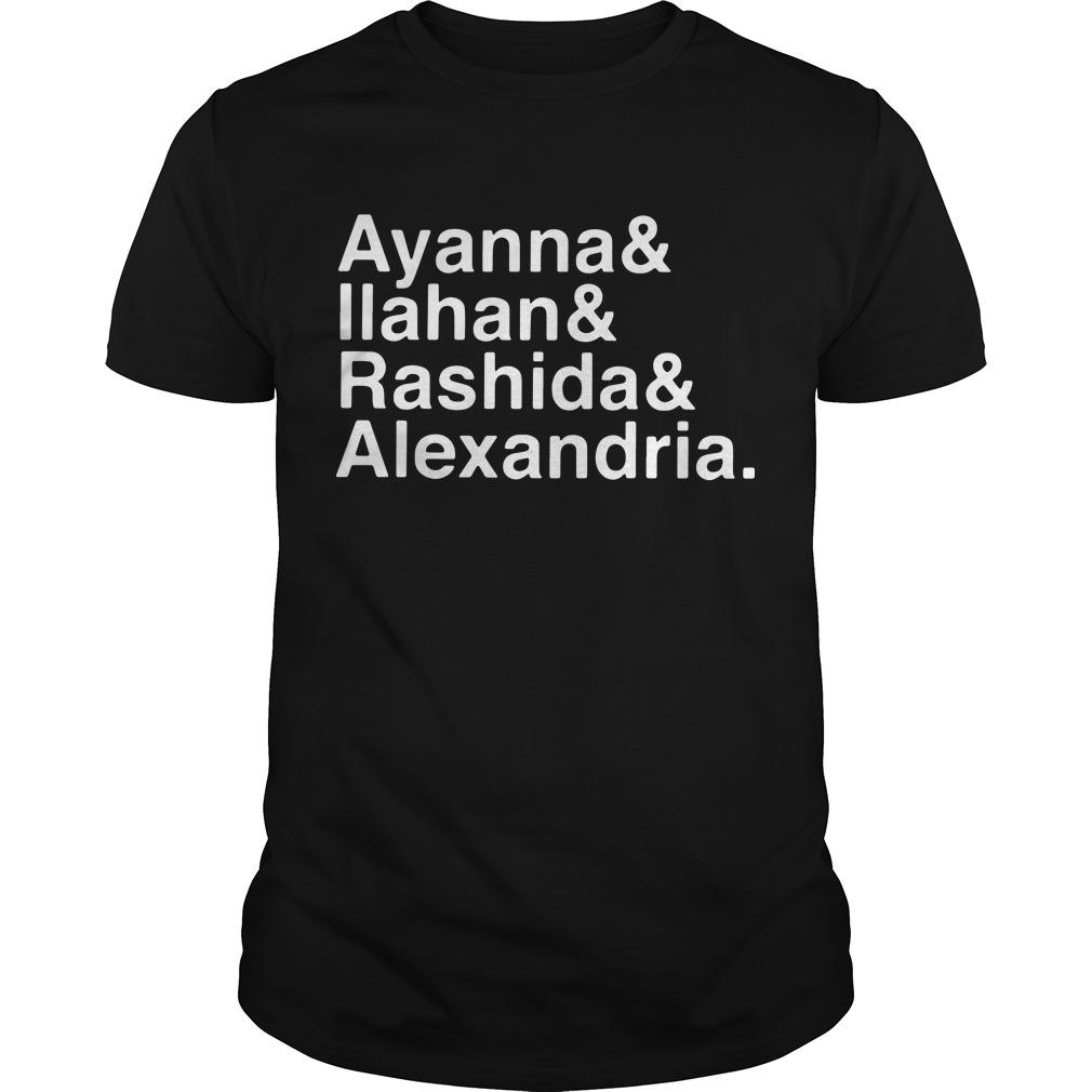 Ayanna Ilahan Rashida Alexandria Shirt