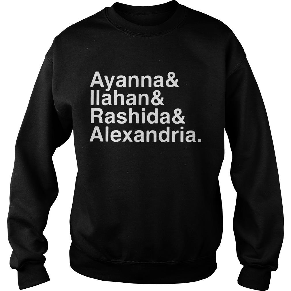 Ayanna Ilahan Rashida Alexandria Sweater