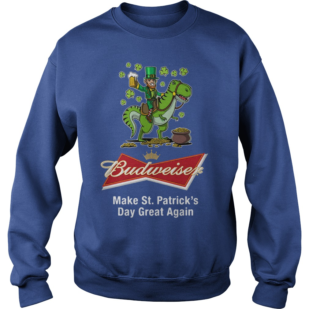 Budweiser Make St. Patrick's Day Great Again Sweater
