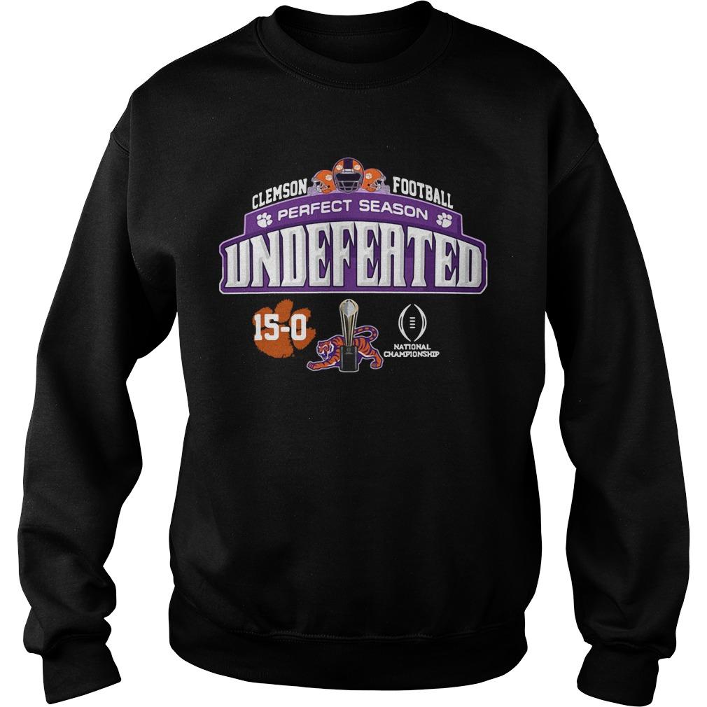 Clemson Football Perfect Season Undeferted Sweater