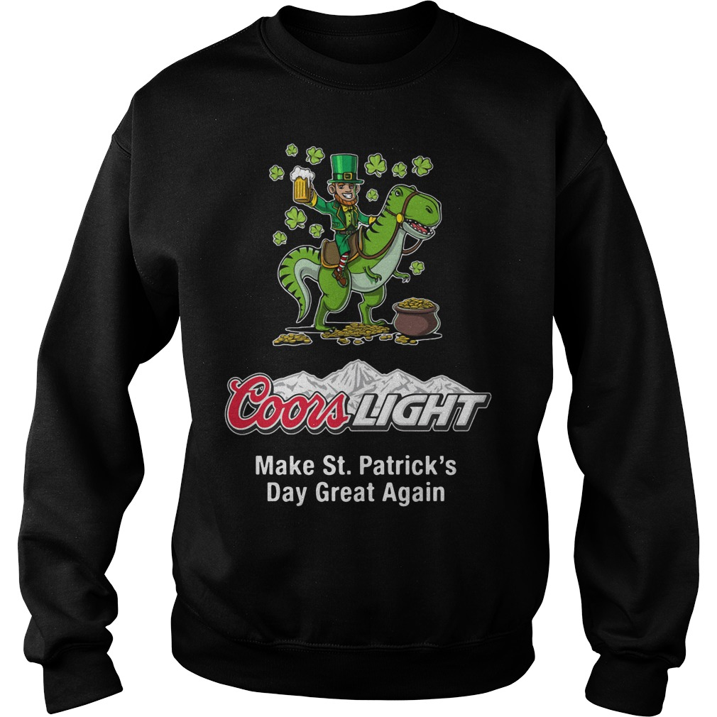 Coors Light Make St. Patrick's Day Great Again Sweater