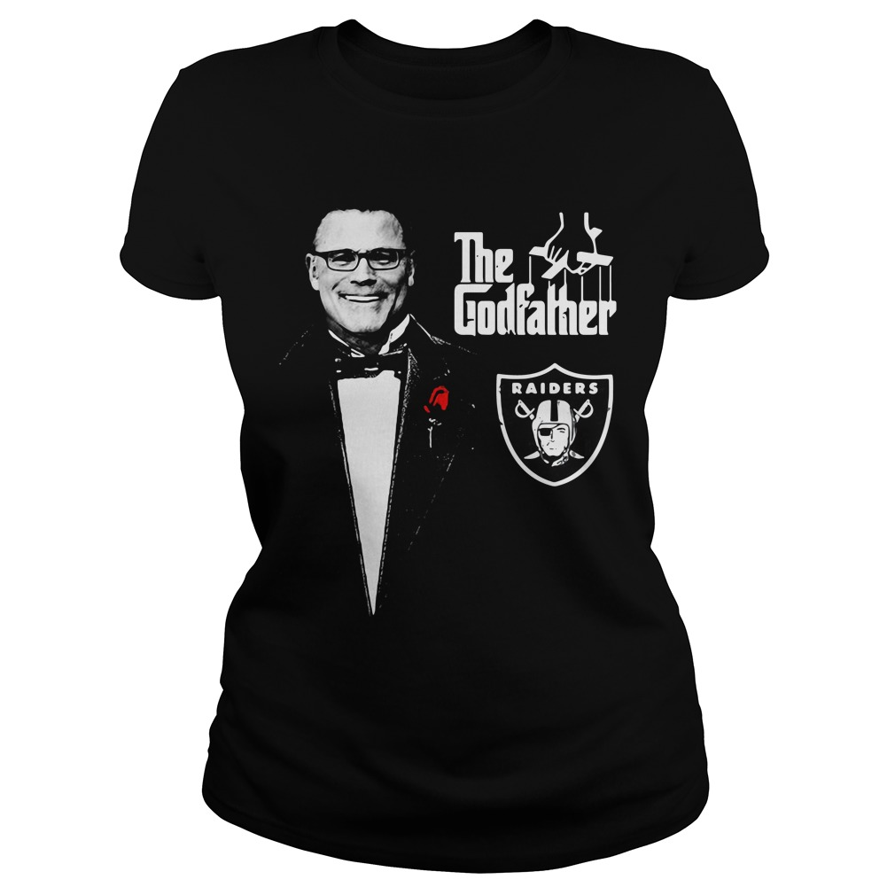 Howie Long The Godfather Oakland Raiders Ladies Tee