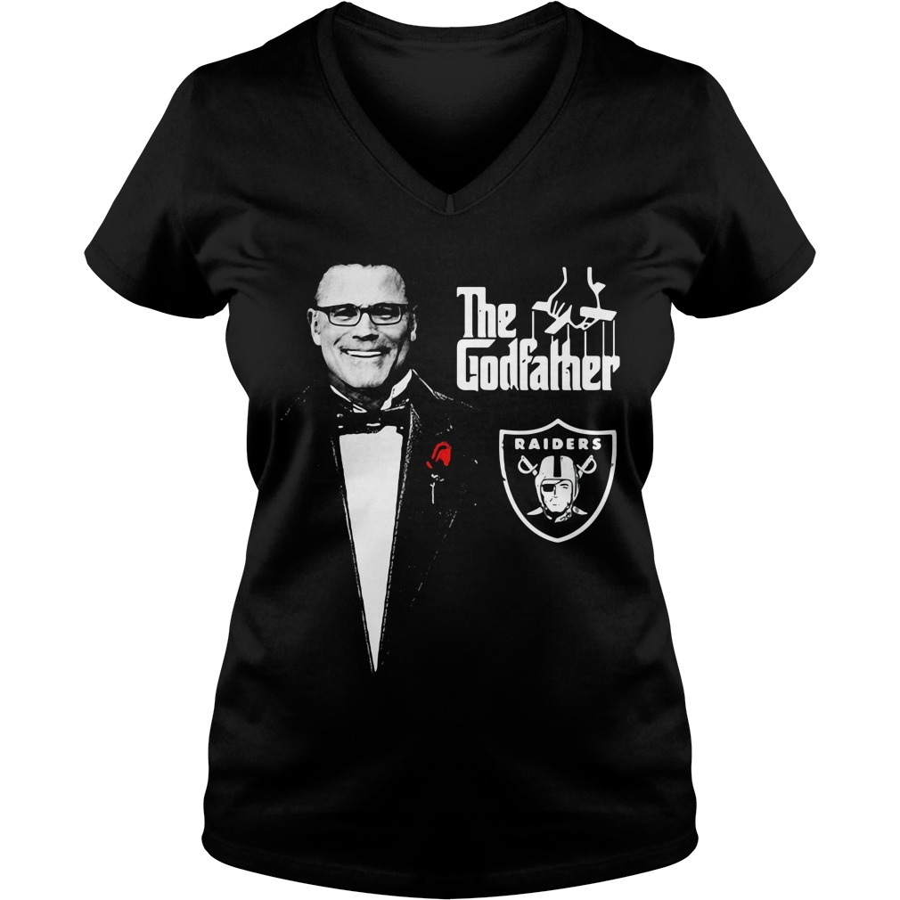 Howie Long The Godfather Oakland Raiders V-neck T-shirt
