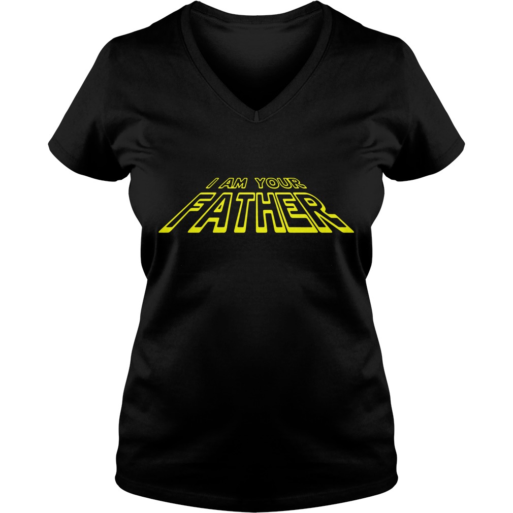 I Am Your Father Star Wars V-neck T-shirt