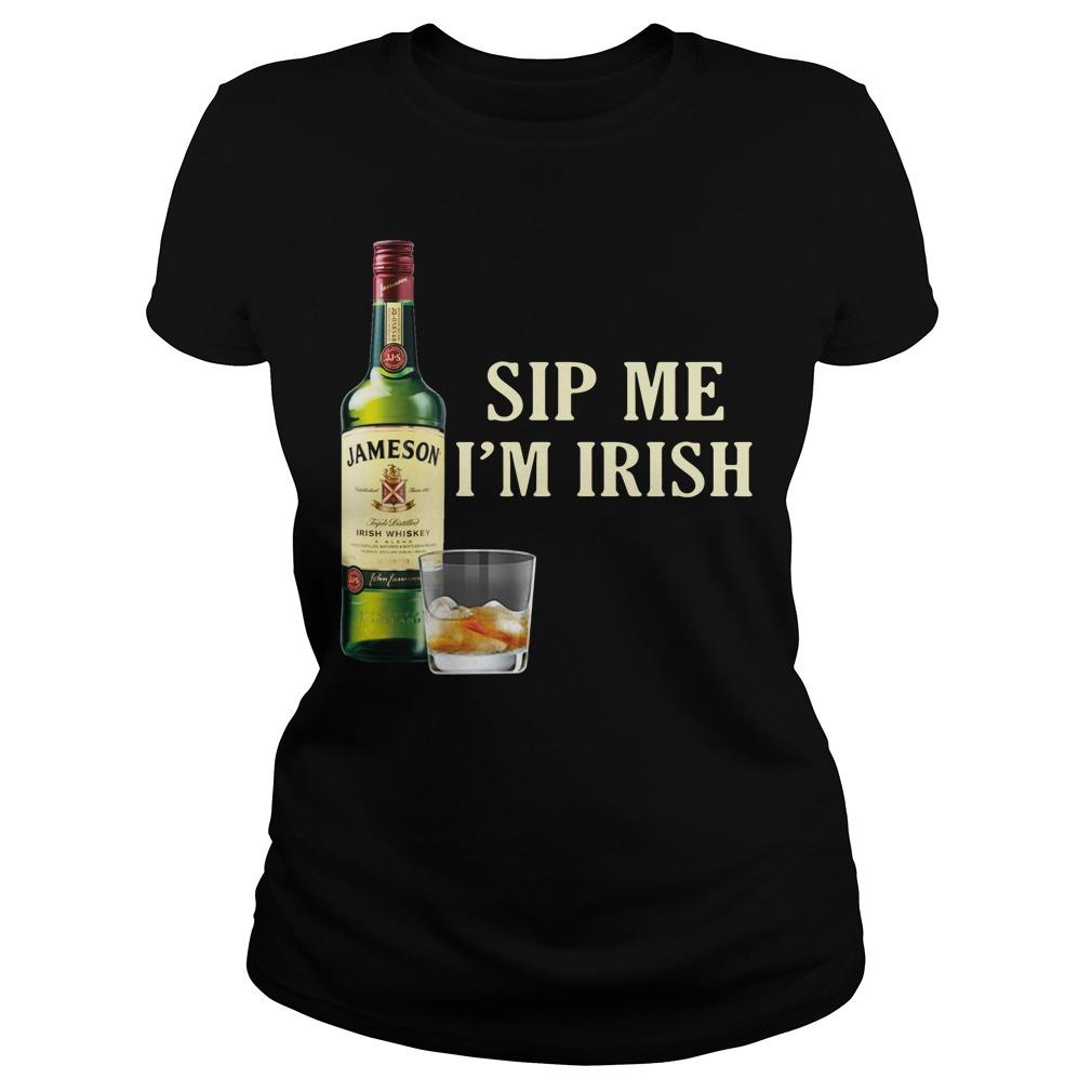 Jameson Sip Me I'm Irish Ladies Tee