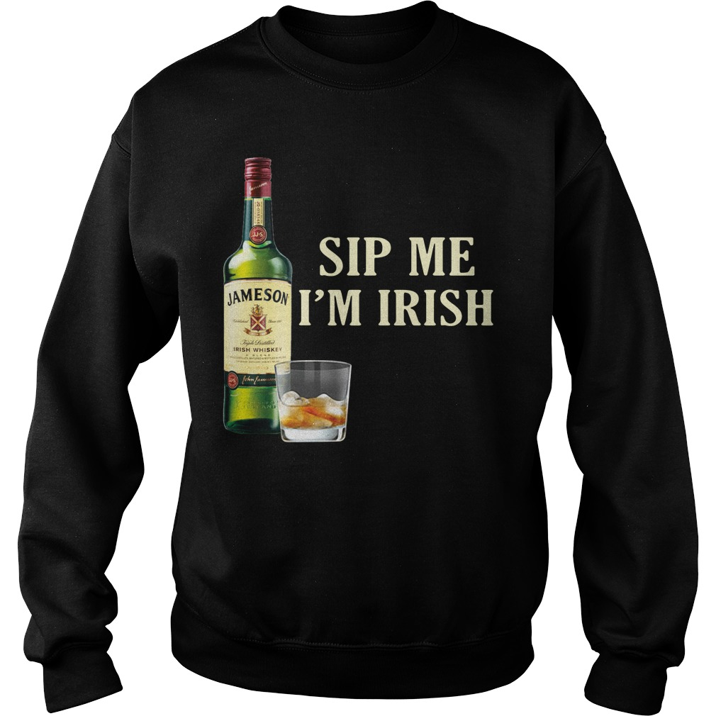 Jameson Sip Me I'm Irish Sweater