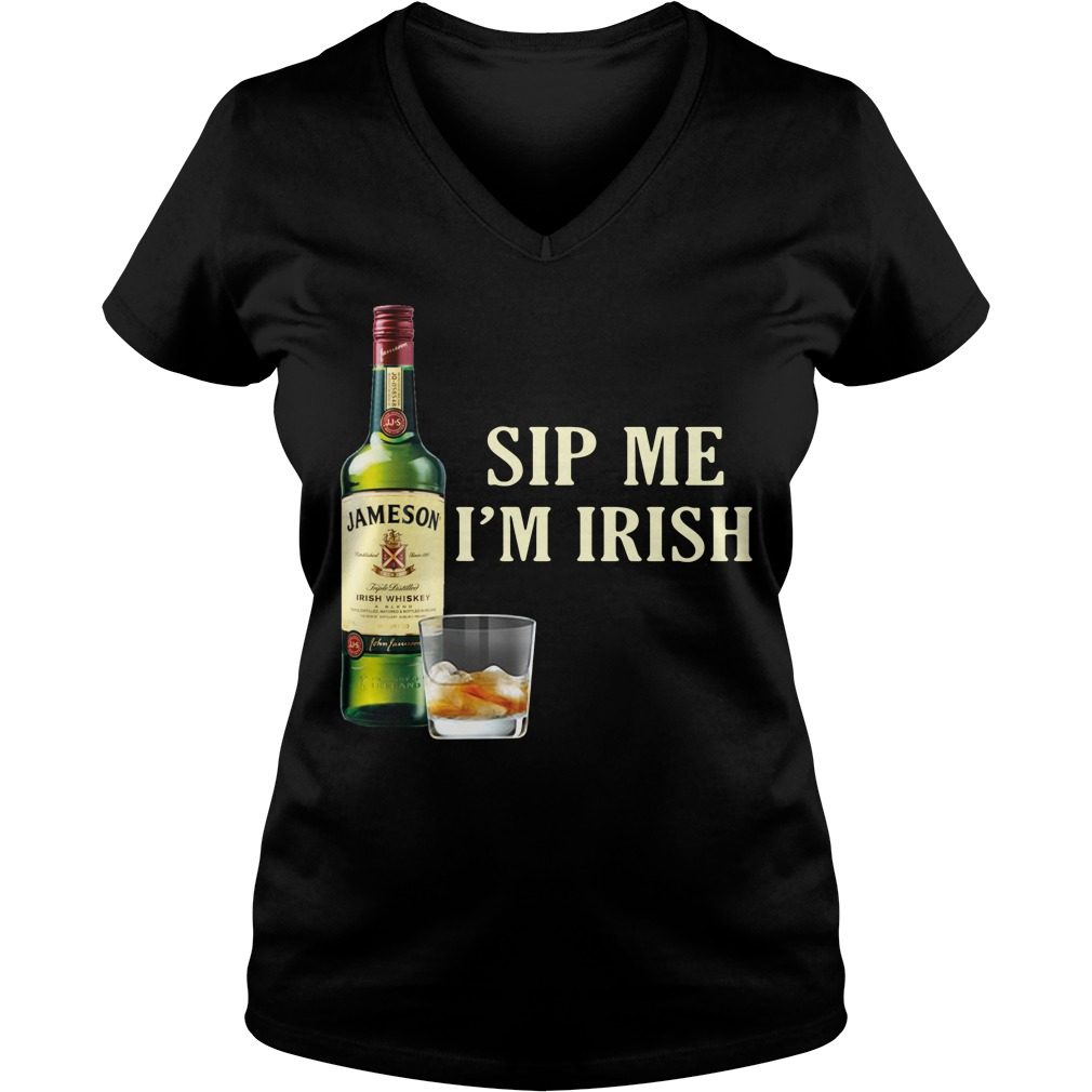 Jameson Sip Me I'm Irish V-neck T-shirt