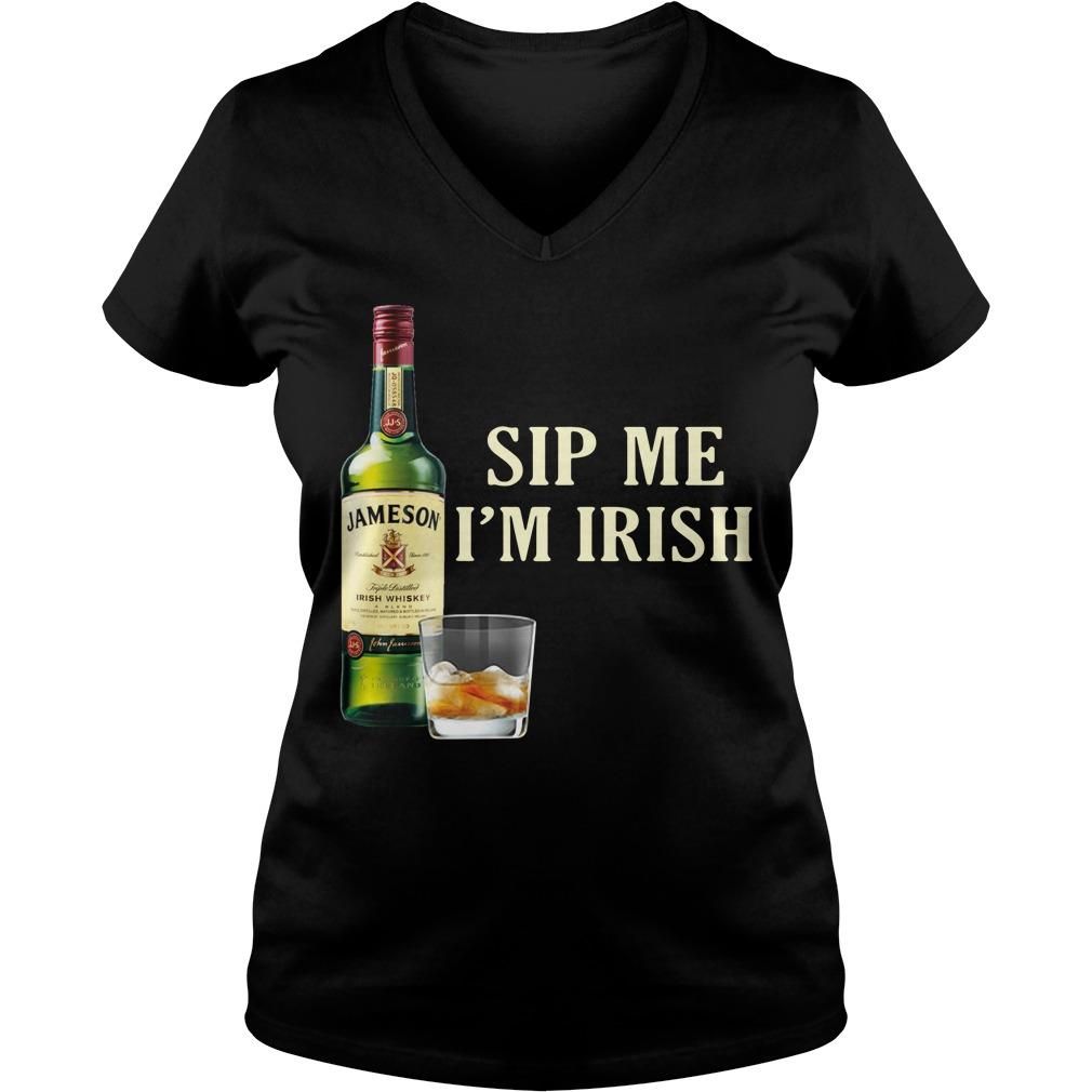 Jameson Sip Me I'm Irish V-neck T-shirt