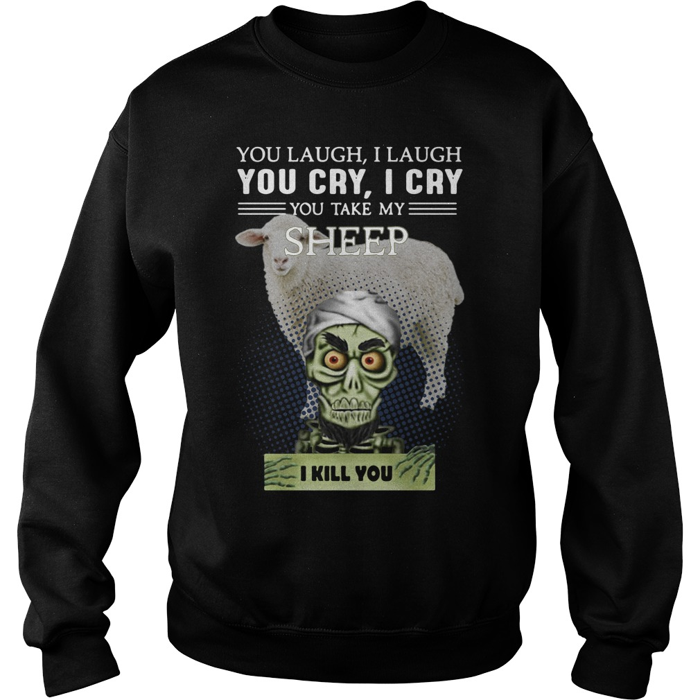 Jeff Dunham You Laugh I Laugh You Cry I Cry You Take My Sheep Sweater