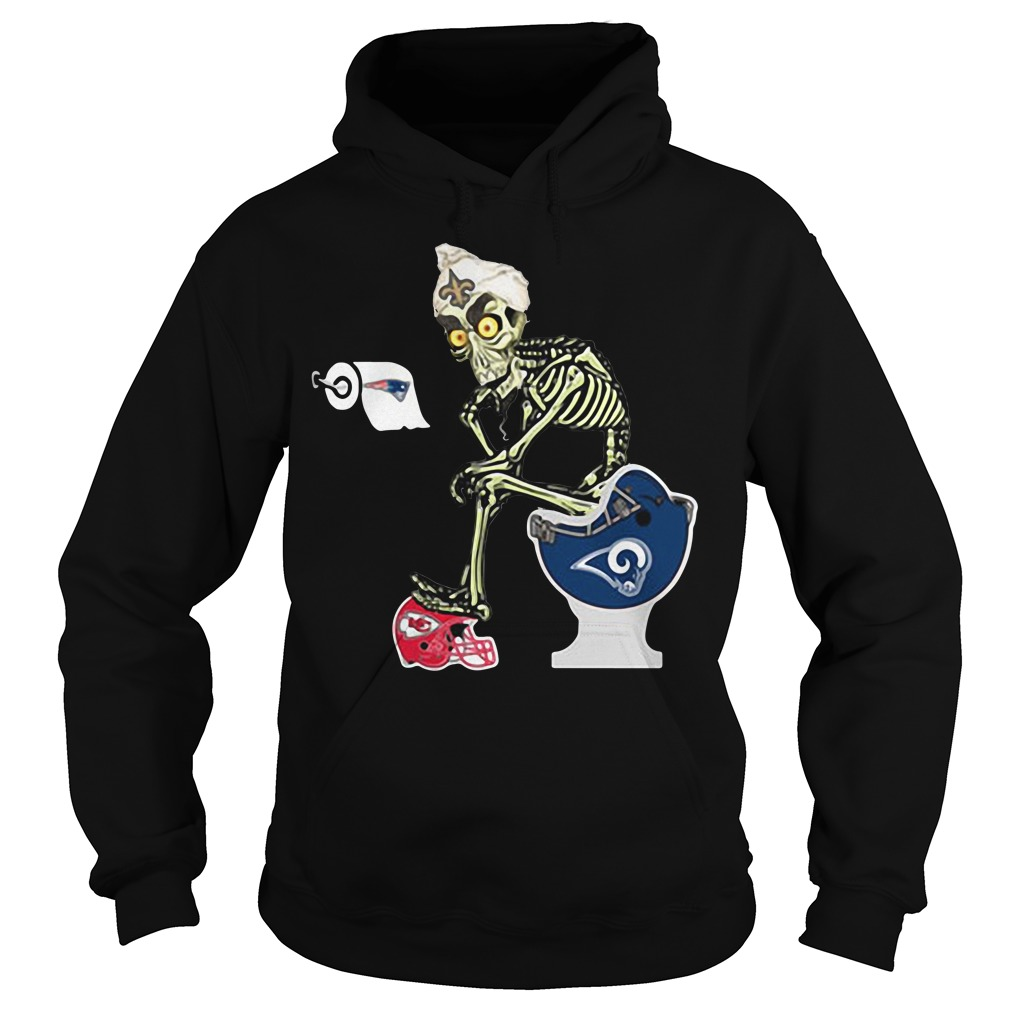 Jeff Dunham Puppet New Orleans Saints Toilet Hoodie