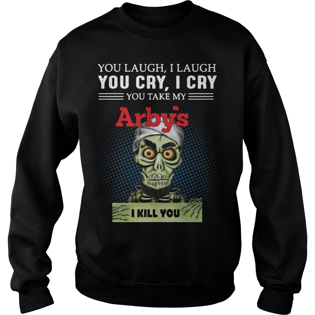 Jeff Dunham Puppet You Laugh I Laugh You Cry I Cry Arbys Sweater