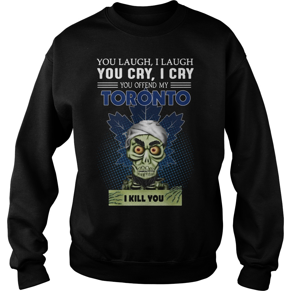 Jeff Dunham You Laugh I Laugh You Cry I Cry You Offend My Toronto Sweater