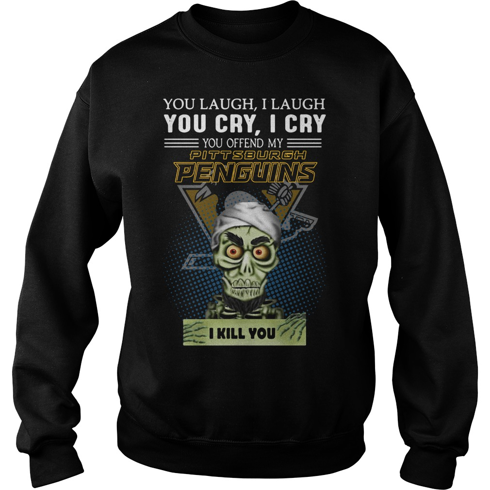 Jeff Dunham You Laugh I Laugh You Cry Pittsburgh Penguins Sweater