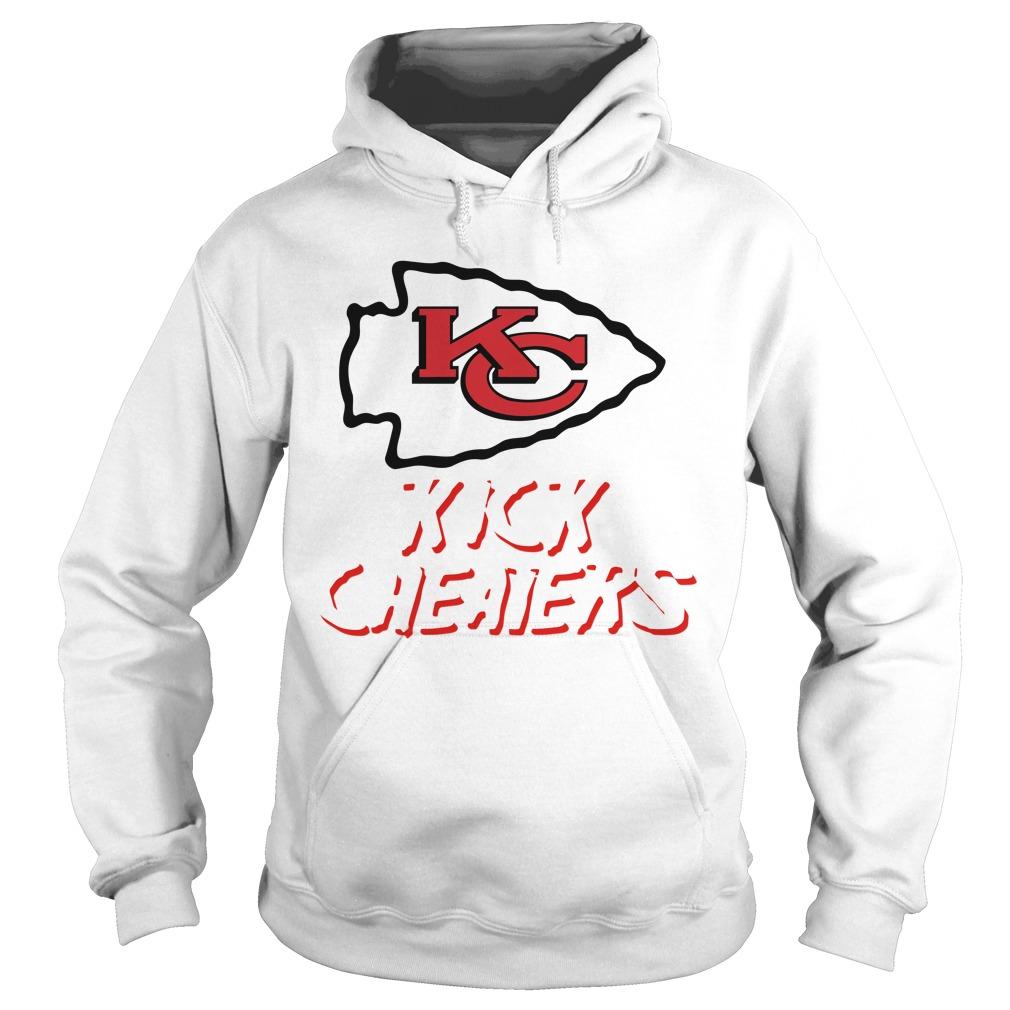Kansas City Chiefs Kick Cheaters Hoodie